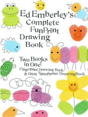 Ed Emberley's Complete Funprint Drawing Book By Emberley, Ed